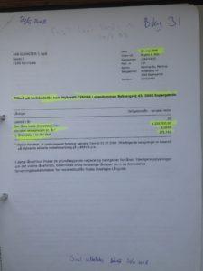 PFA Codan GF Forsikring BRF kredit Totalkredit Nykredit Boxen ATP Lund Elmer Sandager Advokater Anders Dam Mandatsvit Åger Svig Bedrageri Jyske bank Dokumentfalsk PFA
